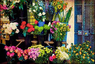 Photograph - Flowers For Sale by Bonnie Follett
