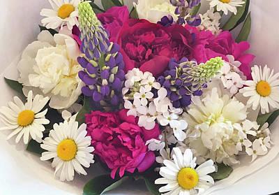 Photograph - Flowers For Sale3 by Susan Crossman Buscho