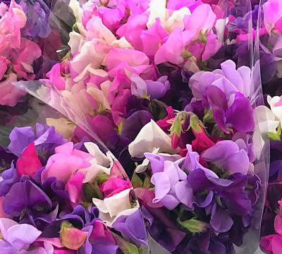 Photograph - Flowers For Sale4 by Susan Crossman Buscho