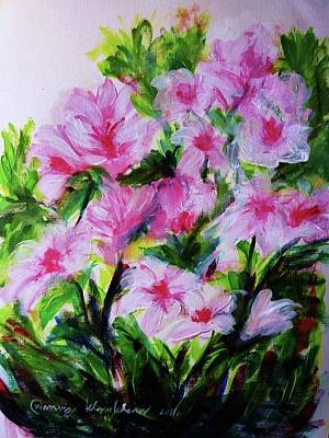 Painting - Flowers For Spring by Wanvisa Klawklean