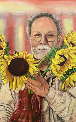 Painting - Flowers For The Artist by Ron Richard Baviello