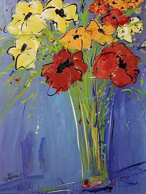 Painting - Flowers For You by Terri Einer