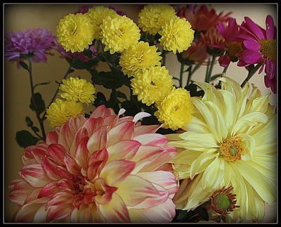 Photograph - Flowers From My Garden by Dora Sofia Caputo Photographic Design and Fine Art