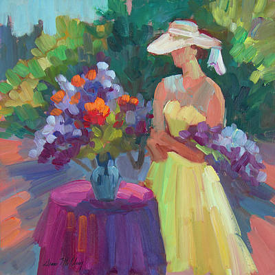 Painting - Flowers From The Garden by Diane McClary
