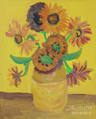 Painting - Flowers From The Garden by Jessica Novoa