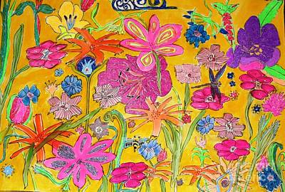 Painting - Flowers Galore by Victoria Hasenauer