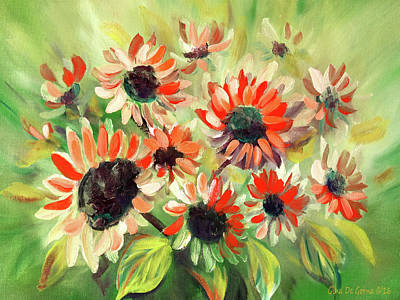 Painting - Flowers by Gina De Gorna