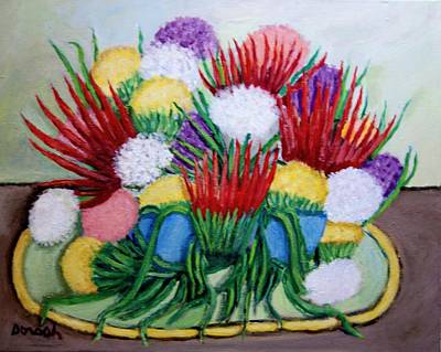 Painting -  Flowers by Gregory Dorosh