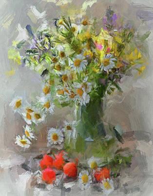 Digital Art - Flowers Impressions by Yury Malkov