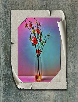 Photograph - Flowers In A Vase by Reynaldo Williams