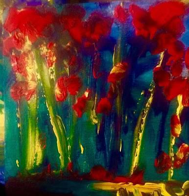 Etc. Painting - Flowers In Bloom by Marilyn St-Pierre