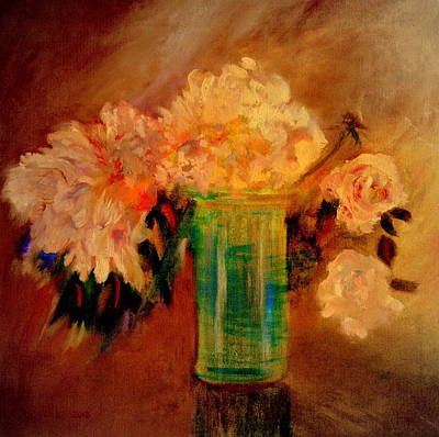 Painting - Flowers In Glass by Henryk Gorecki