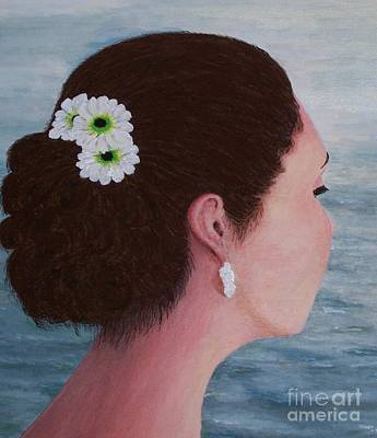 Painting - Flowers In Her Hair by Judy Kirouac