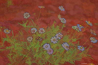 Photograph - Flowers In Rock by Roberta Byram
