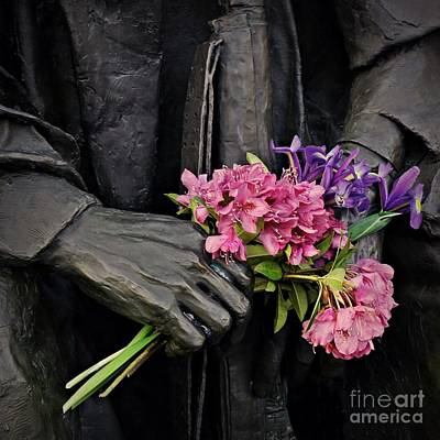 Photograph - Flowers In The Hands by Patricia Strand