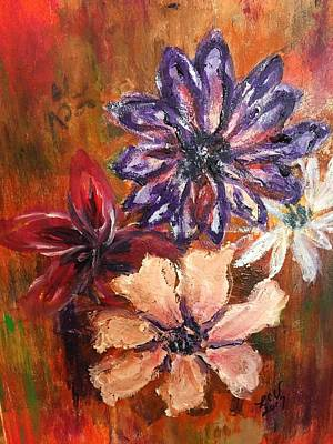 Painting - Flowers In The Spring by Lucille Valentino