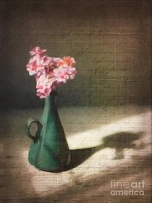 Flowers In Vase Still Life Art Print