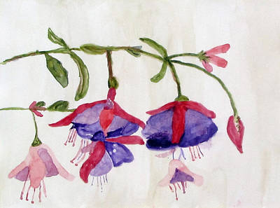 Painting - Flowers by Kathleen Barnes