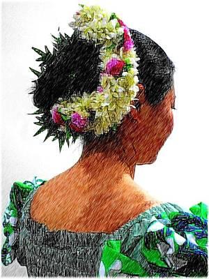 Flower Digital Art - Flowers by Kumiko Izumi