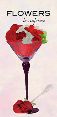 Digital Art - Flowers by M Montoya Alicea