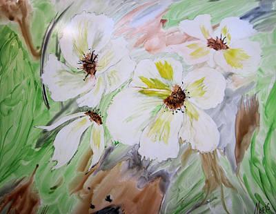 Flowers Art Print by Maris Sherwood