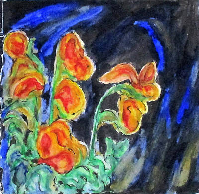 Mixed Media - Flowers Of Glass by Clyde J Kell