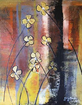 Painting - Flowers Of Gold by Gary Smith