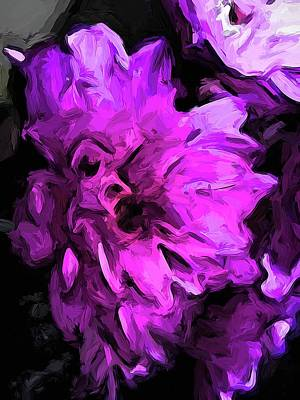 Digital Art - Flowers Of Lavender And Pink 2 by Jackie VanO