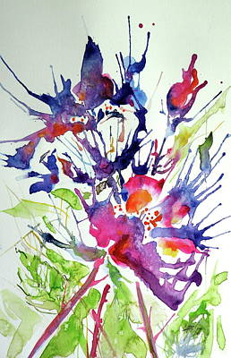 Painting - Flowers Of Summer II by Kovacs Anna Brigitta