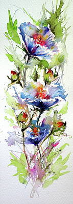 Painting - Flowers Of Summer by Kovacs Anna Brigitta
