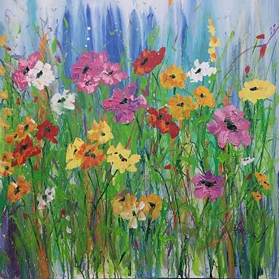 Painting - Flowers Of Summer by Terri Einer