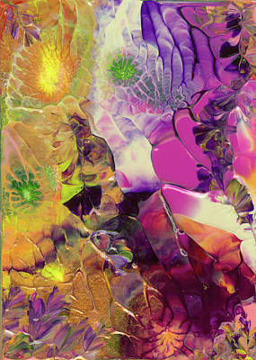 Flowers Of The Cosmic Sea Art Print