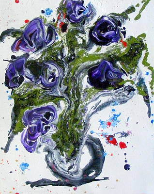Painting - Flowers Of The Mind by Pearlie Taylor