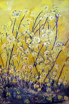 Painting - Flowers Of The Sun by Gary Smith