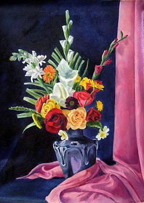 Flowers Pac Art Print by Rabindra Meher