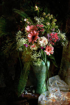 Photograph - Flowers Still Life by John Rivera