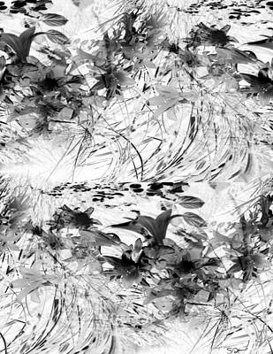 Abstract Photograph - Flowers Study Abstract 1 by Abstract Angel Artist Stephen K