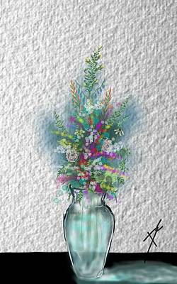 Flowers Study Two Art Print