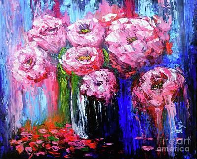 Painting - Flowers by Viktor Lazarev