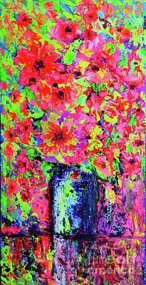 Painting - Flowers#2 by Viktor Lazarev
