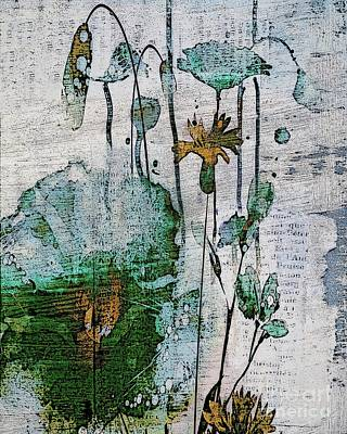 Digital Art - Flowery - 99a by Variance Collections