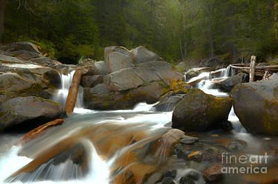 Photograph - Flowing Along Ven Trump Creek by Adam Jewell