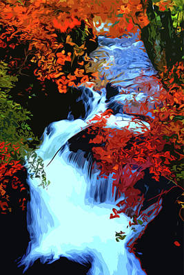 Painting - Flowing Autumn by Andrea Mazzocchetti