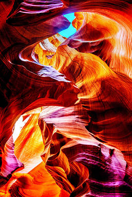 Lit Photograph - Flowing by Az Jackson