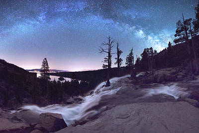 Photograph - Flowing Dreams - Emerald Bay By Brad Scott by Brad Scott