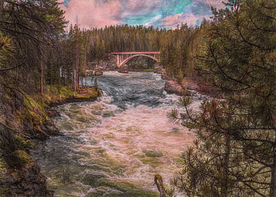 Photograph - Flowing Free by John M Bailey