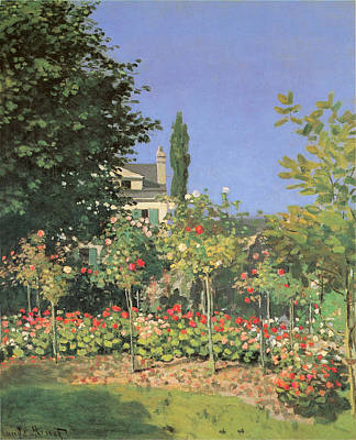 Photograph - Flowing Garden by Claude Monet