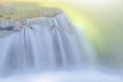 Photograph - Flowing Glow by Leland D Howard