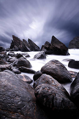 Photograph - Flowing by Jorge Maia