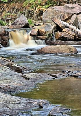 Photograph - Flowing Over The Rocks by Andrew Miles